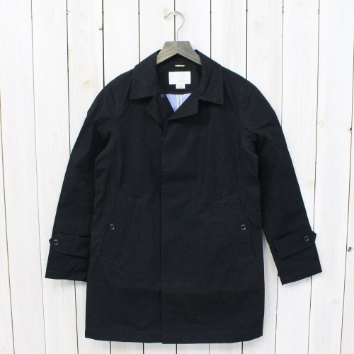 『GORE-TEX® Soutien Coller Coat-Cotton GORE』(Black)