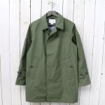 nanamica『GORE-TEX® Soutien Coller Coat-Cotton GORE』(Light Khaki)
