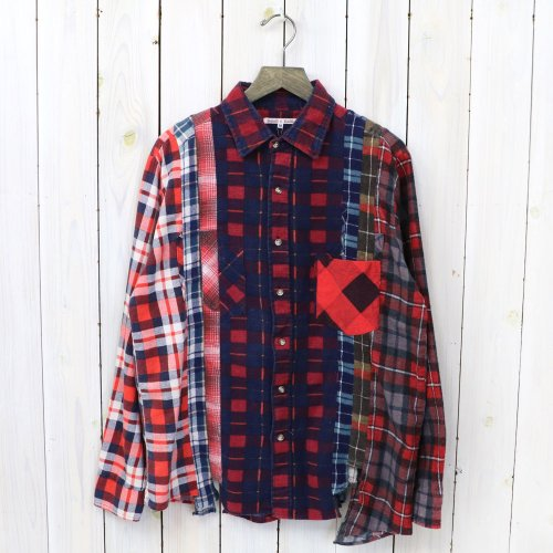 『7Cuts Flannel Shirt』(Assorted-M)