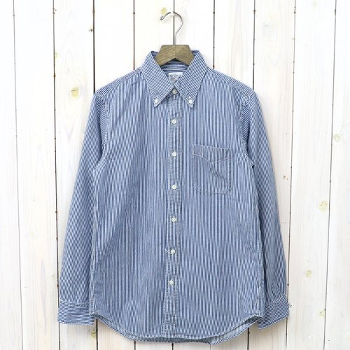 orSlow『BUTTON DOWN SHIRTS』(BLUE DENIM HICKORY)