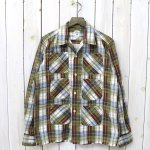 SOUTH2 WEST8『6 Pockets Classic Shirt-Printed Flannel/Plaid』(Olive)