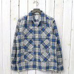 SOUTH2 WEST8『6 Pockets Classic Shirt-Printed Flannel/Plaid』(Blue)