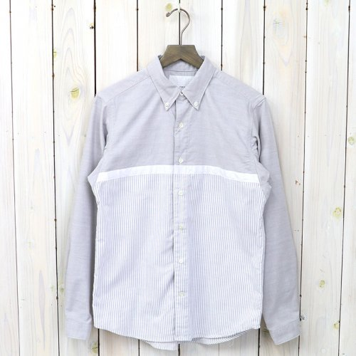 nanamica『Wind BD Shirt』(Gray)
