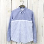 nanamica『Wind BD Shirt』(Blue)