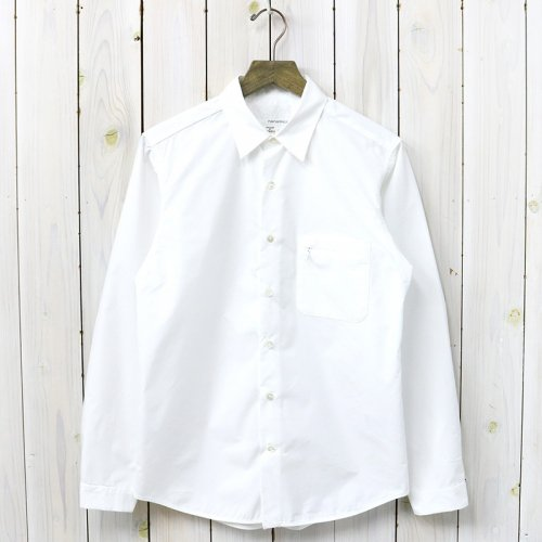 nanamica『Wind Shirt』(White)
