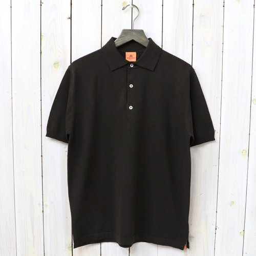 ANDERSEN-ANDERSEN『POLO SHORT』(Dark Brown)