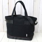 BRIEFING『EASEL CANVAS TOTE L』(BLACK/BLACK)