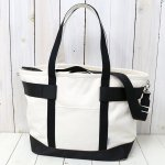 BRIEFING『EASEL CANVAS TOTE L』(NATURAL/BLACK)
