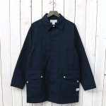 SASSAFRAS『FALL LEAF COAT(C/N OXFORD)』(NAVY)