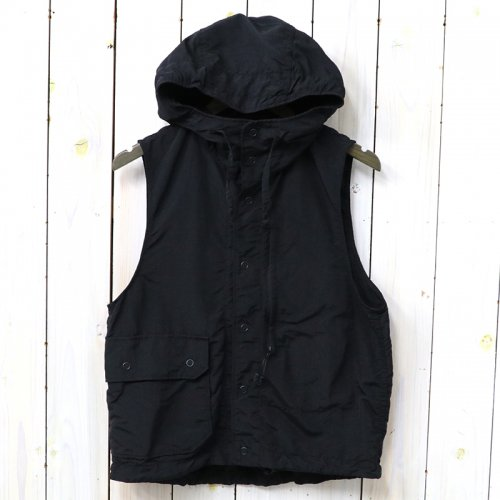 『Field Vest-4-Ply Nylon Taslan』(Black)