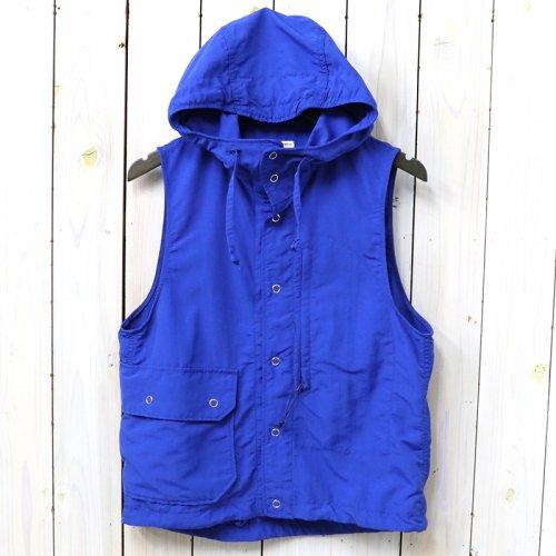 『Field Vest-4-Ply Nylon Taslan』(Royal Blue)