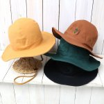 SOUTH2 WEST8『Crusher Hat-Cotton Canvas/Paraffin』
