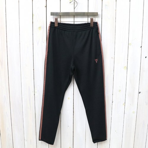SOUTH2 WEST8『Trainer Pant-Poly Smooth』(Black)