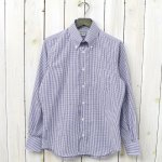 INDIVIDUALIZED SHIRTS『GRAPH CHECK』(WHITE/BLUE)