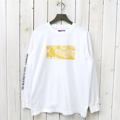 『8oz L/S Graphic Tee』(Half Dome Man)