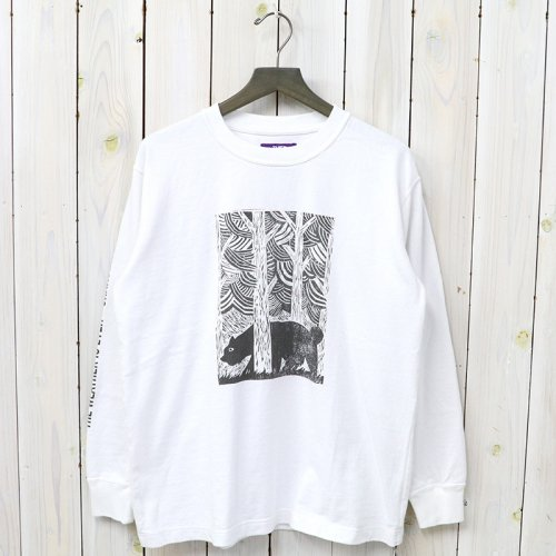 『8oz L/S Graphic Tee』(California Bear)