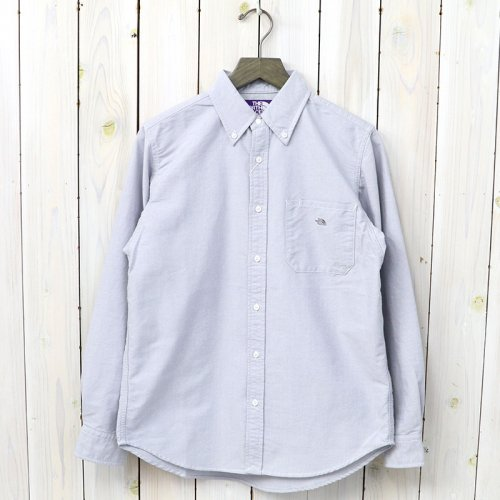 『Cotton Polyester OX B.D Shirt』(Gray)