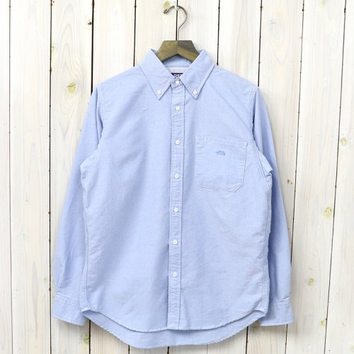 『Cotton Polyester OX B.D Shirt』(Sax)