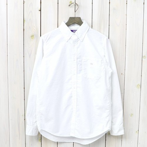 『Cotton Polyester OX B.D Shirt』(White)