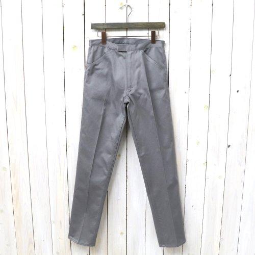 『McQueen PANTS TWILL』(GRAY)