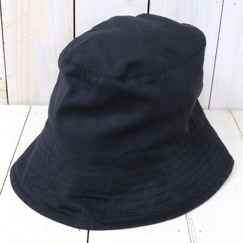 『Bucket Hat-Cotton Cordlane』(Black)