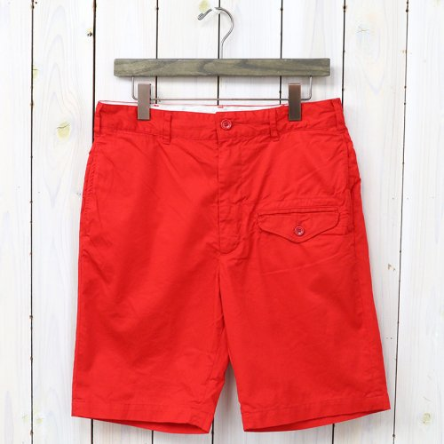 『Ghurka Short-5oz Twill』(Red)