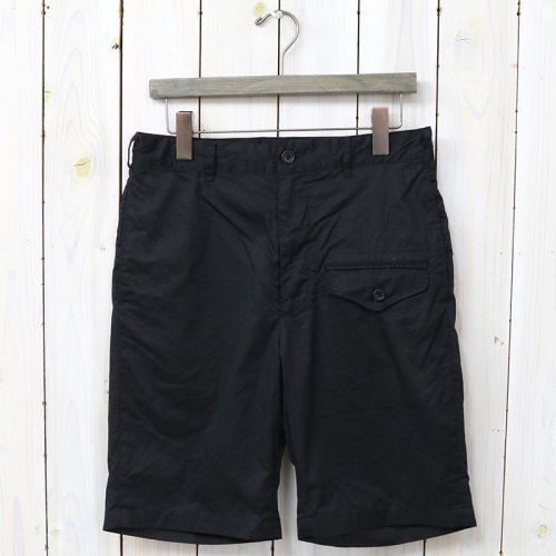 『Ghurka Short-High Count Twill』(Black)