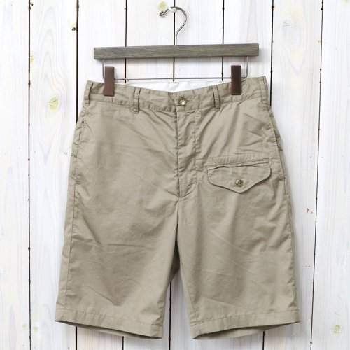 『Ghurka Short-High Count Twill』(Khaki)