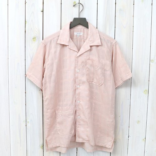 『Camp Shirt-Window Pane Cotton Dobby』(Lt.Pink)