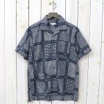 ENGINEERED GARMENTS『Camp Shirt-Afghan Print』(Navy/White)
