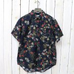 ENGINEERED GARMENTS『Pop Over BD Shirt-Floral Sheeting』(Dk.Navy)