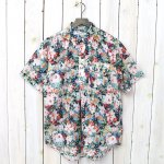 ENGINEERED GARMENTS『Pop Over BD Shirt-Floral Sheeting』(White Watercolor)