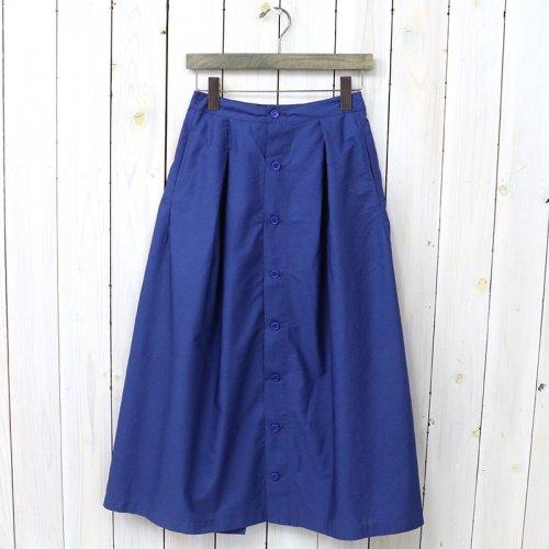 『Tuck Skirt-Superfine Poplin』(Dk.Blue)