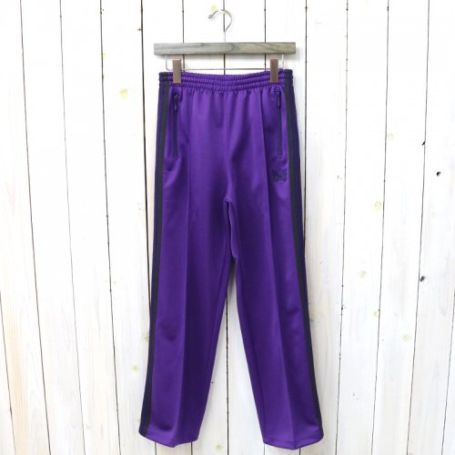 『Track Pant-Poly Smooth』(Purple)