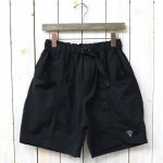 SOUTH2 WEST8『Belted Center Seam Short-Nylon Tussore』(Black)