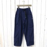 SOUTH2 WEST8『Belted Center Seam Pant-Nylon Taffeta/Acrylic Coating』(Navy)