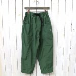 SOUTH2 WEST8『Belted Center Seam Pant-Nylon Taffeta/Acrylic Coating』(Green)