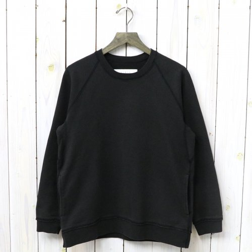 『FROSTED CREW SWEAT』(BLACK)