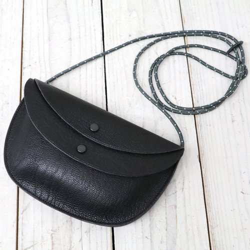 『Round Pouch Made by PORTER』(Black)