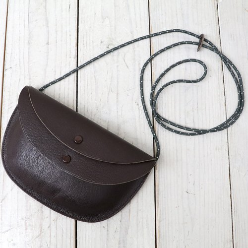 『Round Pouch Made by PORTER』(Brown)