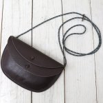Kaptain Sunshine『Round Pouch Made by PORTER』(Brown)