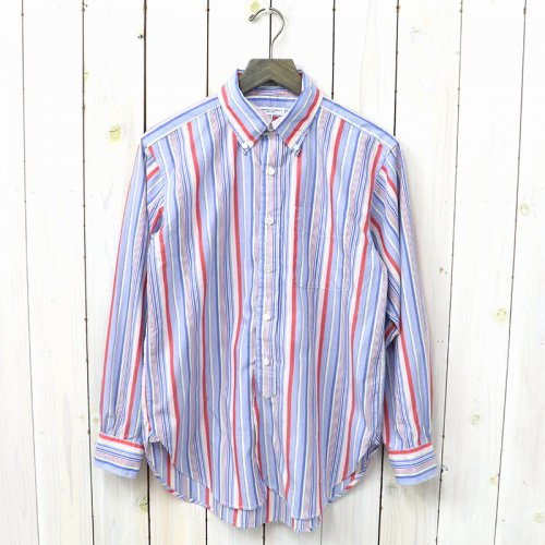 『19th BD Shirt-Vertical Regent St.』(Blue/Pink)