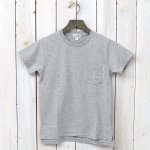 FWK by ENGINEERED GARMENTS WORKADAY『Crossover Neck Pocket Tee-Women』(Grey)