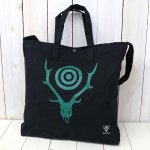 SOUTH2 WEST8『Grocery Bag-Skull & Target』(Black)