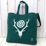 SOUTH2 WEST8『Grocery Bag-Skull & Target』(Green)
