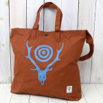 SOUTH2 WEST8『Grocery Bag-Skull & Target』(Brown)