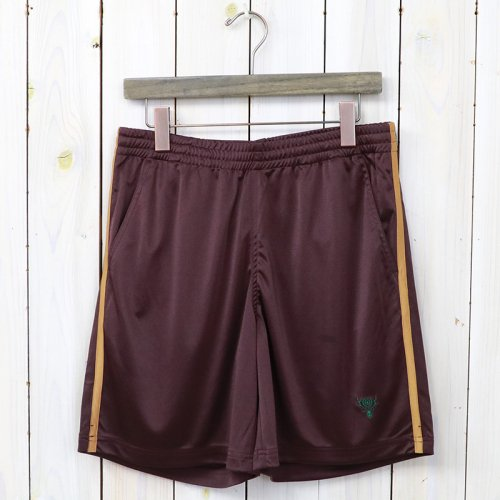 『Side Slit Trail Short-Sateen Smooth』(Bordeaux)