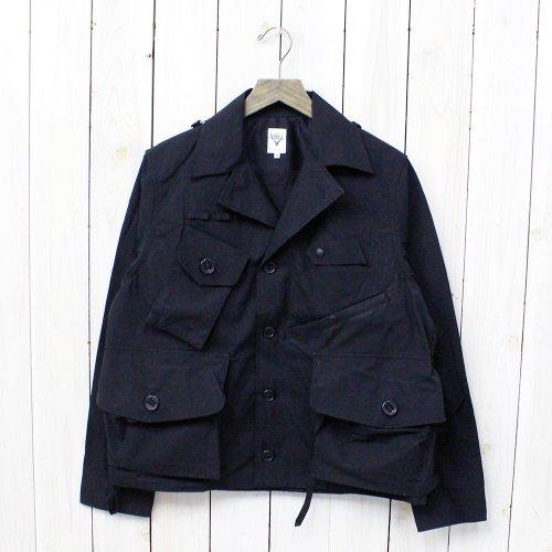SOUTH2 WEST8『Tenkara Shirt-Wax Coating』(Navy)