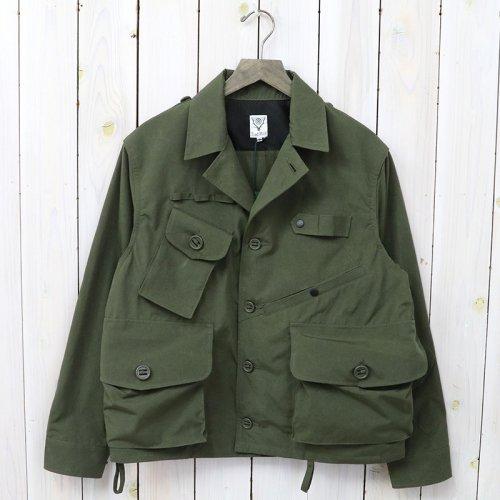 【会員様限定SALE】SOUTH2 WEST8『Tenkara Shirt-Wax Coating』(Olive)