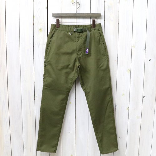 『Stretch Twill Tapered Pants』(Olive Drab)